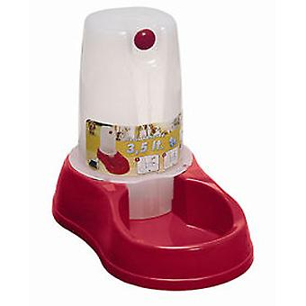 Arppe Drinker Plastic hopper 1,5 L (honden, kommen, Feeders & Water Dispensers)