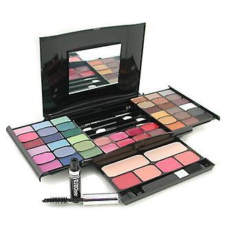Make-up kit g2327 (2x poeder, 36x oogschaduw, 4x blusher, 1x mascara, 1x oogpotlood, 8x lipgloss, 4x applicators) 111529 -