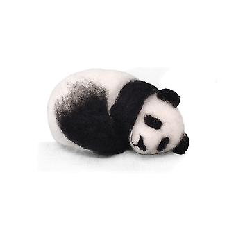 Sleepy Panda nål tovet Kit