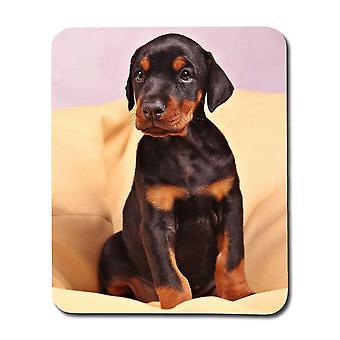 Dobermann Puppy Mouse Pad