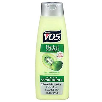 Alberto vo5 herbal escapes clarifying conditioner, kiwi lime, 12.5 oz