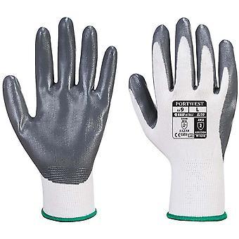 Portwest Flexo Grip Nitrile Gloves (A310) / Safetywear / Workwear