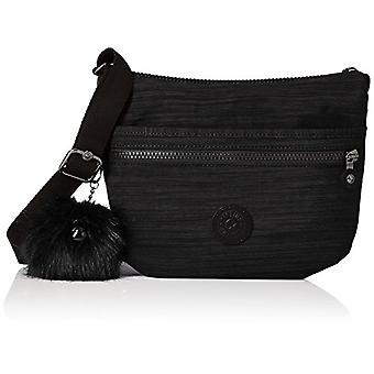 Kipling Arto S - Black Woman shoulder bags (True Dazz Black) 15x24x45 cm (W x H x L)