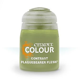 Contrast: Plaguebearer Flesh (18ml) ,Citadel Paint Contrast,Warhammer 40,000