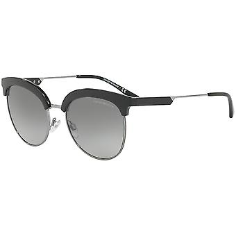 Emporio Armani EA4102 5001/11 Black-Gunmetal/Grey Gradient Sunglasses
