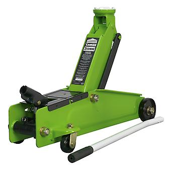 Sealey 1153Cxhv Troleibuz Jack 3Tonă Șasiu lung Heavy-Duty Hi-Vis