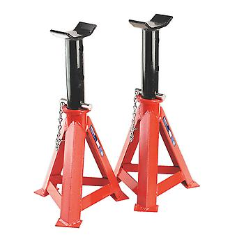 Sealey As12000 Axle Stands 12Tonne Capacity Per Stand 24Tonne Per Pair