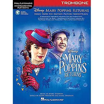 Instrumental Play-Along - Mary Poppins Returns - Trombone (Book/Online