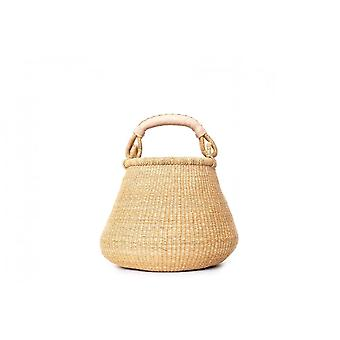 Cosy Coco Nature's Grass Pot Basket | Natural Cream