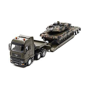 Siku  Military Transport Low Loader With Tank  1:50 8612