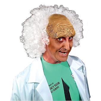 Mad Scientist Nice White Wig