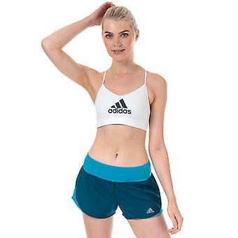 Women's adidas All Me Badge Of Sport Bra en blanc