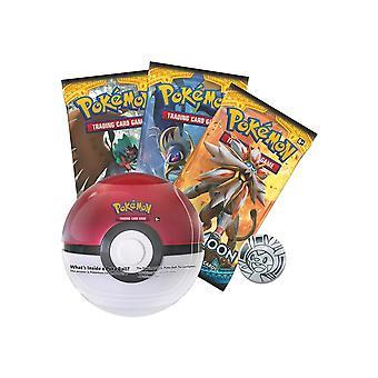 Gioco ufficiale di Pokémon Trading Card Poke Ball Tin Series 4