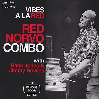 Red Combo Norvo - Vibes a Al Red [CD] USA import