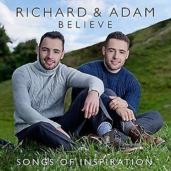 Richard & Adam - Believe: Songs of Inspiration [CD] USA import