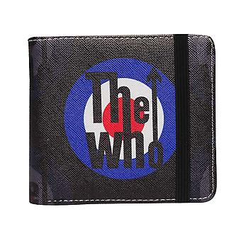 The Who Wallet Classic MOD Target Band Logo new Official Black Bifold