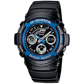 Casio G-Shock Watch AW-591-2A - Hartsi Gents Kvartsi analoginen - Digitaalinen