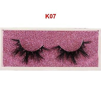 Eyelashes 100% Cruelty Free Handmade - 3d Mink Lashes, Full Strip Lashes, Soft
