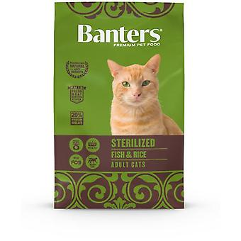 Banters Cat Sterilised Fish (Cats , Cat Food , Dry Food)