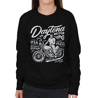 Teilen & erobern Daytona Motor Co Biker Frauen's Sweatshirt