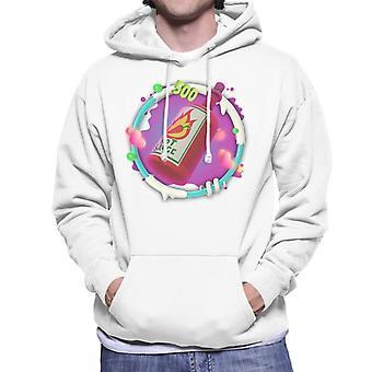 Angry Birds Hot Sauce 3D Badge Men's Hooded Sweatshirt