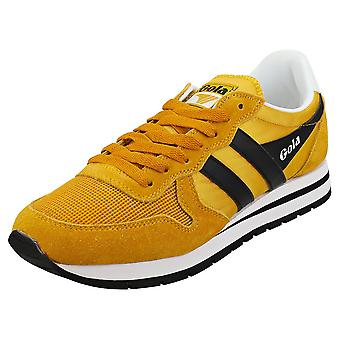 Gola Daytona Mens Fashion Trainers in Sun