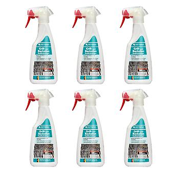 Sparset: 6 x HOTREGA® grill and oven radical cleaner, 500 ml flat spray bottle