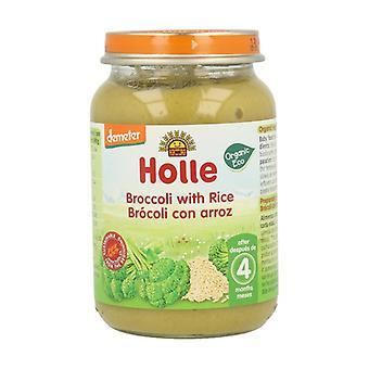Jar of Broccoli with Organic Brown Rice 190 g
