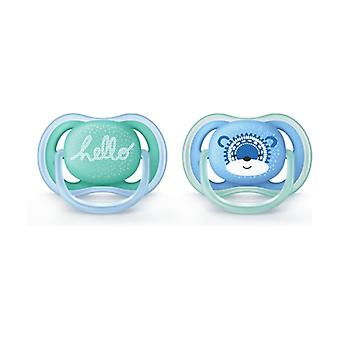 Philips Avent Pacifiers Ultra Air SCF342 / 22 2 units