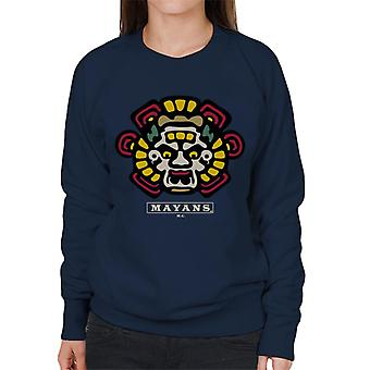 Mayans M.C. Motorcycle Club Face Colour Logo Emblem Women's Sweatshirt