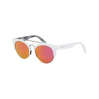 Italia Independent - Accessories - Sunglasses - 0921_001_BTT - Ladies - white,hotpink
