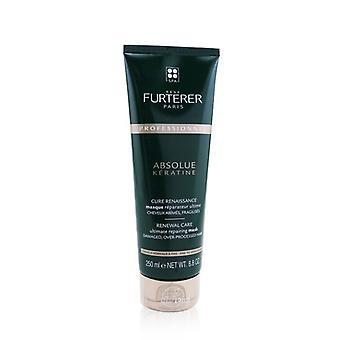Rene Furterer Absolue KÃ ̈ratine Renewal Care Ultimate Repairing Mask - Danificado, superprocessado fino para cabelo médio (produto de salão) 250ml / 8.8oz