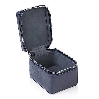 Indigo Sininen Richmond nahka pieni trinket box