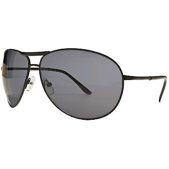 النظارات الشمسية Unisex Cat.3 أسود دخان / أسود (& نقلا عن amm19110b & نقلا عن))