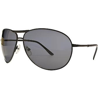 "Sunglasses Unisex Cat.3 black smoke/black (""amm19110b"")"