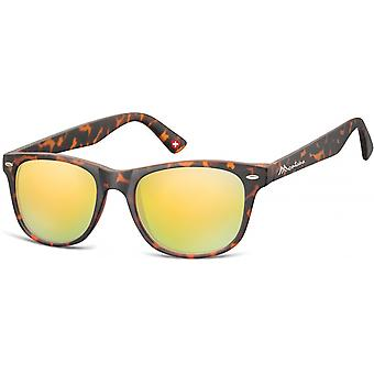 Sunglasses Unisex Wanderer Flamed Brown/Yellow (MS10)