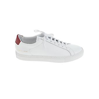 Common Projects 22570536 Her's White Leather Sneakers