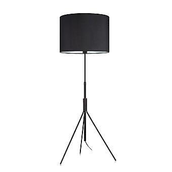 Markslojd SLING - 1 lys innendørs stativ gulvlampe svart, E27