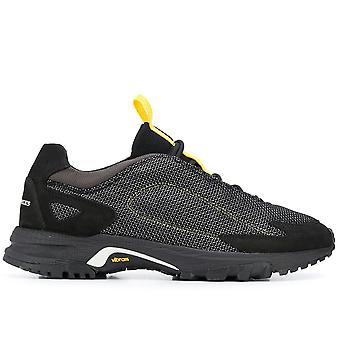 Filling Pieces Ezcr077001 Men's Black Fabric Sneakers