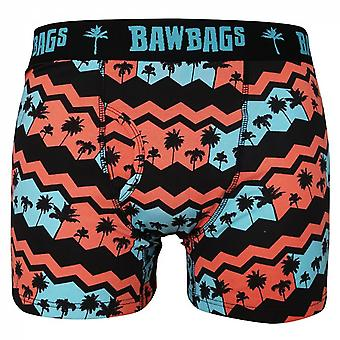 Bawbags Palmy Boxer Shorts - Red