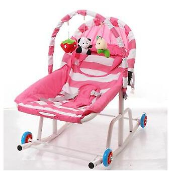 Baby Rocking Chair Cradle Rocker Bouncer Chair, Baby Swing Chair Lounge