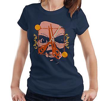 Chucky Beste Vriend Schaar Gezicht Women's T-Shirt
