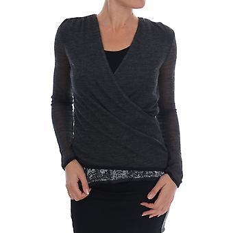 Ermanno Scervino Women's Long Sleeved T-Shirt Grey TSH1553