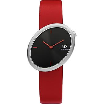 Diseño danés IV24Q1284 Reloj de las damas de la elipse