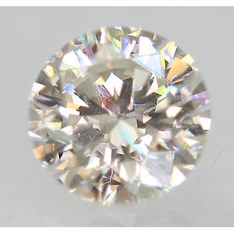 Sertifioitu 0,52 karat G VVS2 pyöreä loistava parannettu luonnollinen löysä timantti 5,12m