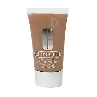 Clinique Stay Matte Oil Free Makeup 30ml Sand #19 (M-N) -Box Imperfect-