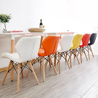 Nordic Ins Restaurante Silla de Muebles Modern Iron Office Wood Kitchen Dining