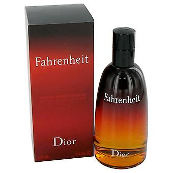 Fahrenheit After Shave By Christian Dior 3.3 oz After Shave