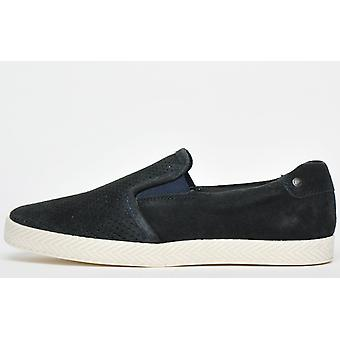 Base London Clipper Suede Navy