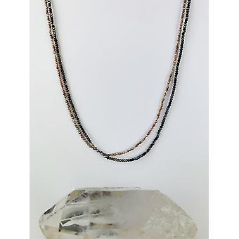 Colier Moonstone & Labradorite